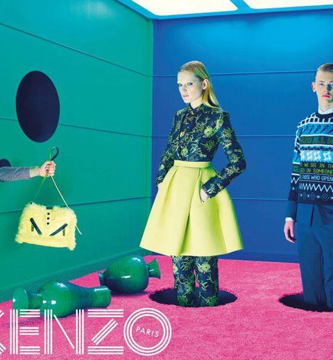 La campagne Kenzo Automne-Hiver 2014-2015
