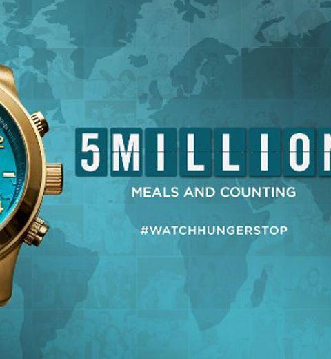 La campagne contre la faim de Michael Kors atteint les 5 millions de repas distribués