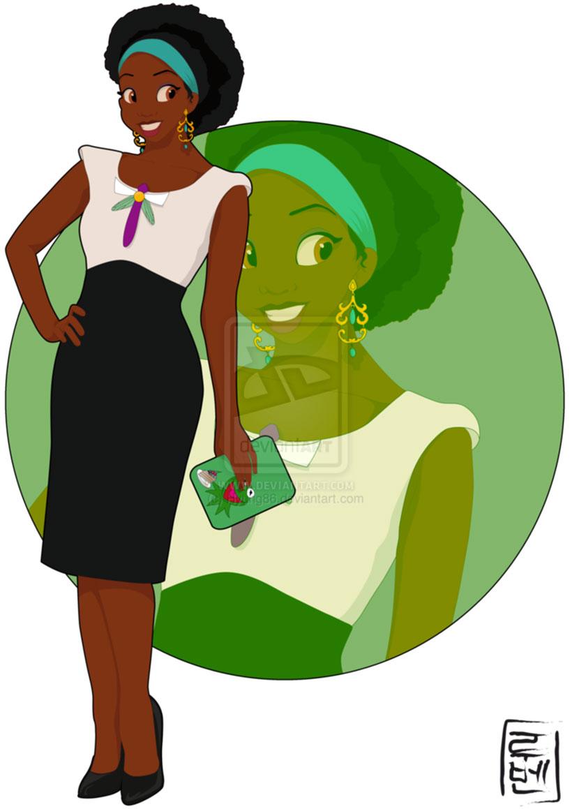 Tiana – La Princesse et la Grenouille