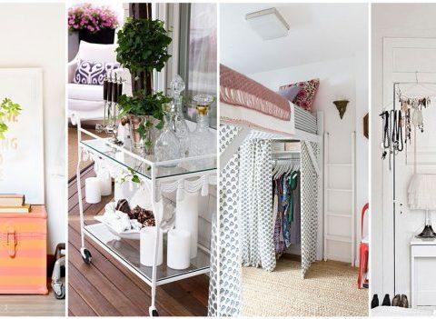 10 fa ons de ranger ses affaires quand on n 39 a pas de placard. Black Bedroom Furniture Sets. Home Design Ideas