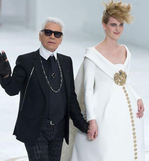 Chanel Haute Couture: la mariée était enceinte