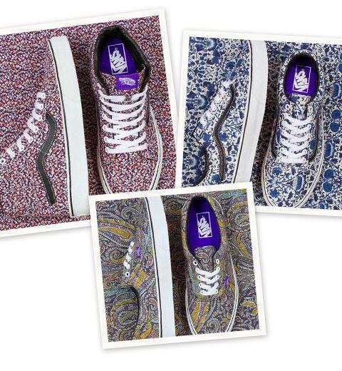 Vans x Liberty Art Fabrics lancent une collection capsule !
