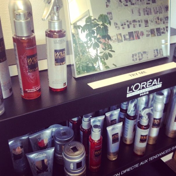 Photo du hair bar L'Oréal Professionnel.