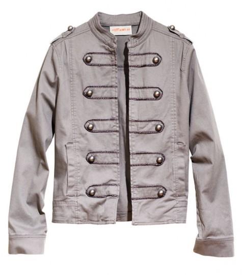 Military Jacket pour H&M 50€