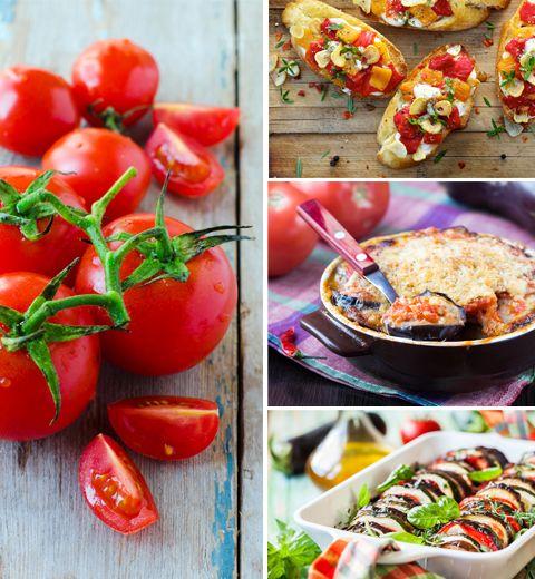 3 recettes à base de tomates pour l'été