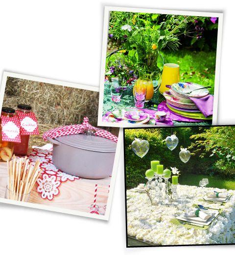 3 idées pour dresser une jolie table d'été