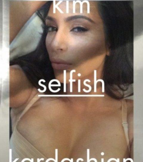 Kim Kardashian publie un livre de selfies