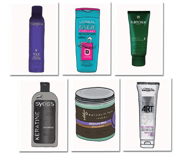Les moyens professionnels pour les cheveux poreux et frisé