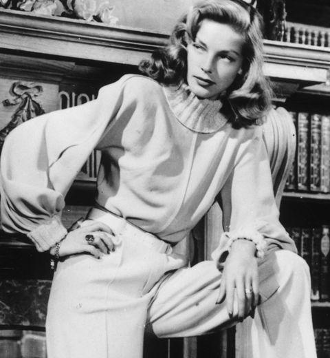 Lauren Bacall: une leçon de mode