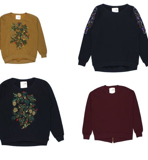 Les sweats OMSK de la collection Siberia