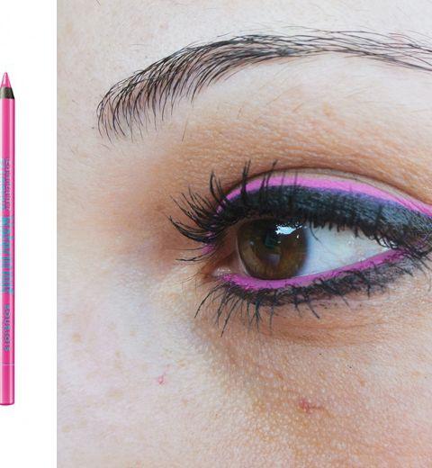 Look du jour: l'eye-liner rose fluo