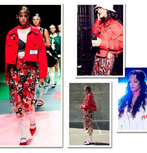 Une ancienne étudiante de l'Académie d'Anvers habille Rihanna