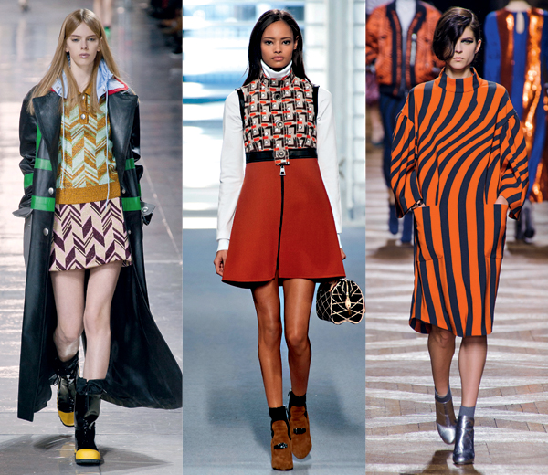 Catwalk: Miu Miu, Louis Vuitton, Dries Van Noten