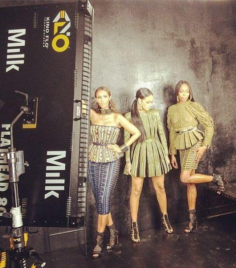 Rihanna, Naomi Campbell et Iman réunies le temps d'un photoshoot