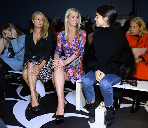 Paris et Nicky Hilton en compagne de Leandra Medine