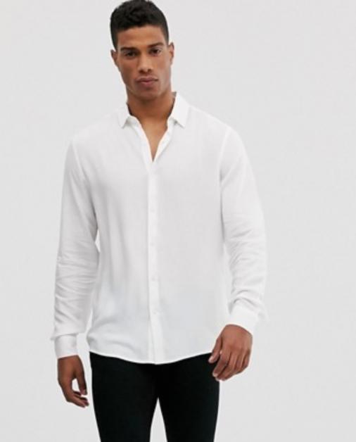 chemise aoss blanche