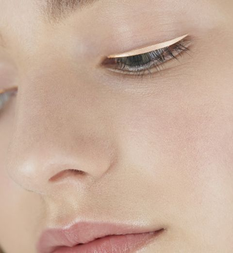 L'eye-liner pastel du défilé printemps/été 2015 de Dior