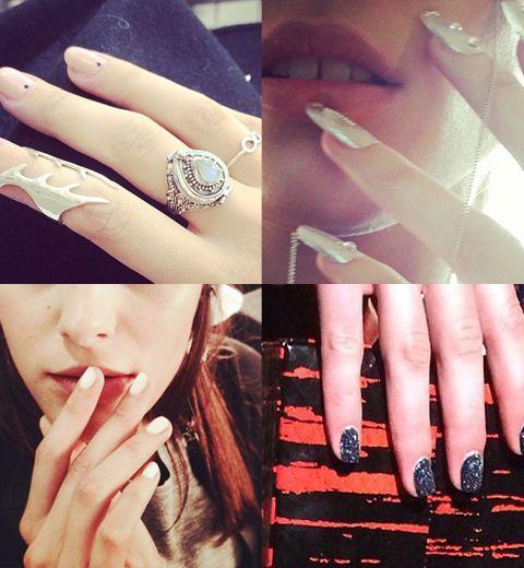 London Fashion Week: les plus beaux nails art