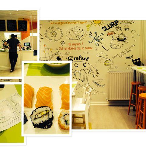 Cellule Sush': le bar à sushis à Louvain-La-Neuve