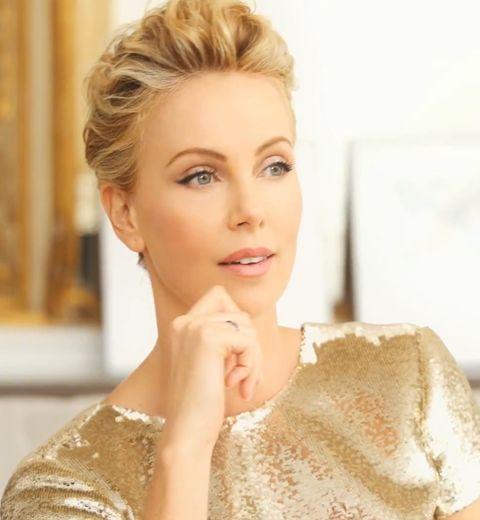 EXCLU ELLE.be: l'interview intimiste de Charlize Theron pour Dior