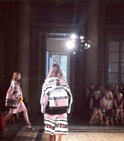 Fashion week diary : Milan mercredi 17 septembre 2014