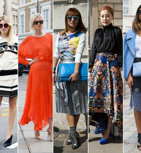 Les plus beaux looks de la fashion week londonienne #1