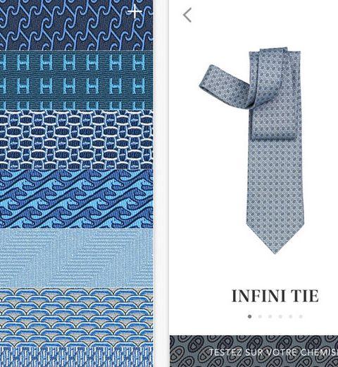Hermès lance l'application qui vous apprend à nouer votre cravate