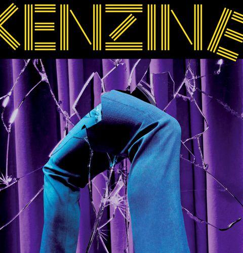 Kenzine, le magazine de Kenzo