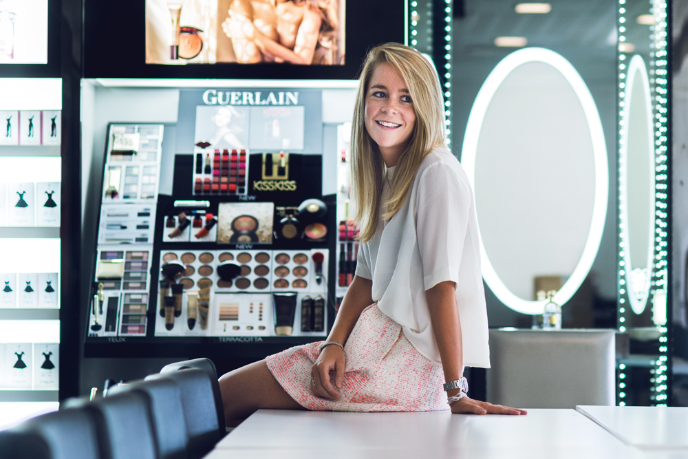 Cristina Product Manager et Trade Marketeer chez Guerlain