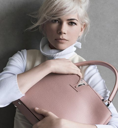 Le rose Magnolia de la nouvelle campagne Louis Vuitton