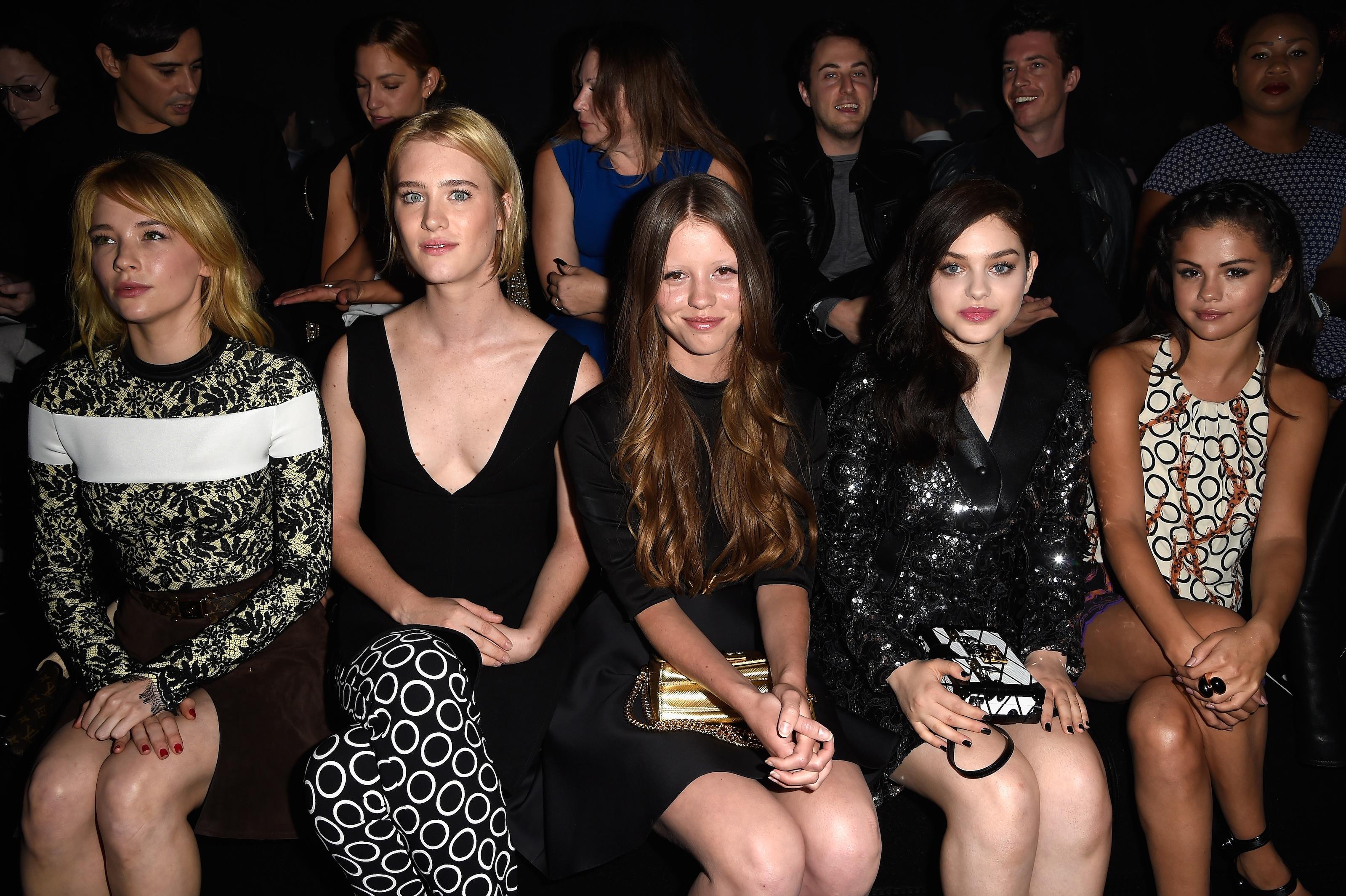 Louis Vuitton : Front Row - Paris Fashion Week Womenswear Spring/Summer 2015