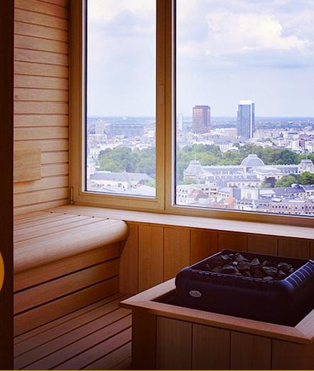 hotel The Hotel à Bruxelles sauna