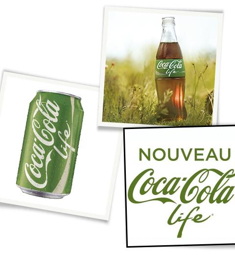 Le Coca à la stévia