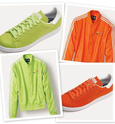 Pharrell Williams et sa collection flashy pour adidas Originals