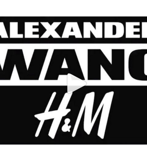 Alexander Wang x H&M  plus d'images (VIDÉO)