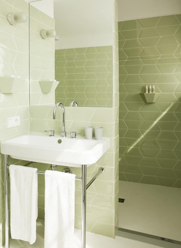Hôtel des Galeries Salle de bain