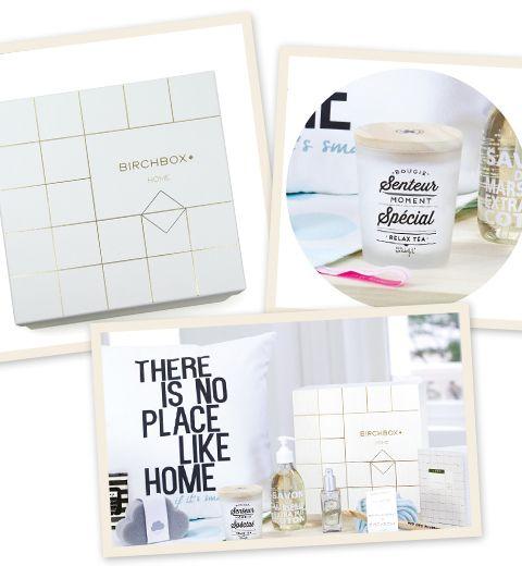 BIRCHBOX lance sa box «home» en édition limitée
