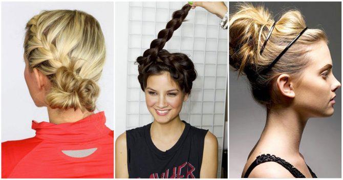 coiffure sportive femme