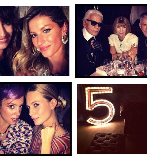 La soirée de lancement de la nouvelle campagne Chanel Numéro 5