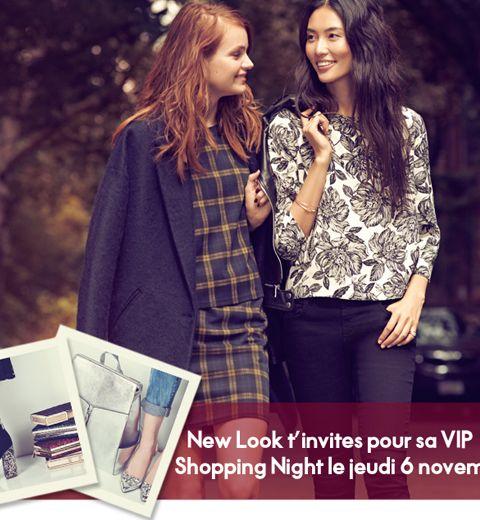 Le bon plan de la rédac: la soirée shopping VIP chez New Look