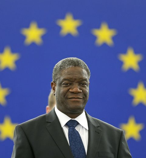 Le docteur Mukwege reçoit le prix Sakharov