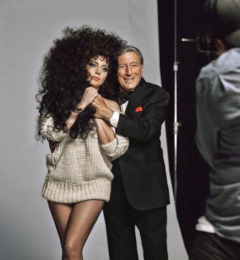 Lady Gaga et Tony Bennett's dans la pub de Noël d'H&M