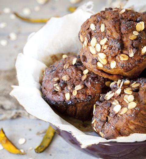 Petits muffins au potimarron
