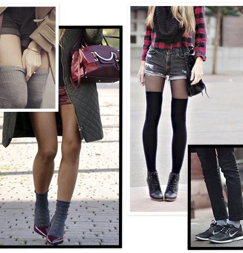 15 façons de mettre vos chaussettes au centre de votre look
