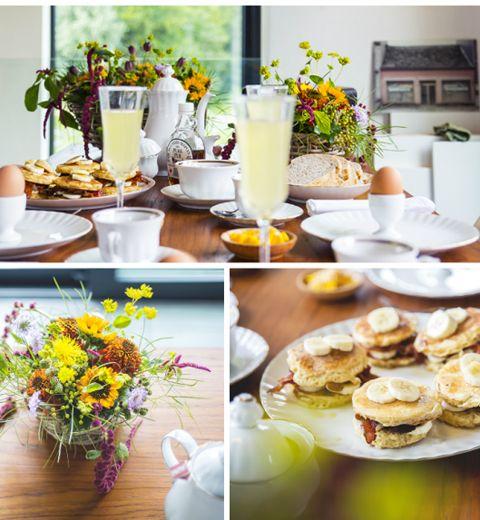 Une jolie déco de table pour le brunch du dimanche