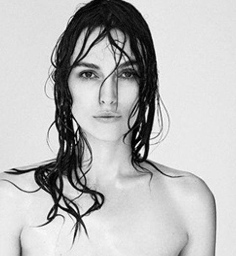 Keira Knightley pose topless pour dénoncer les travers de Photoshop
