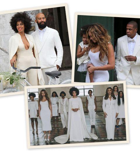 Le mariage blanc de Solange Knowles