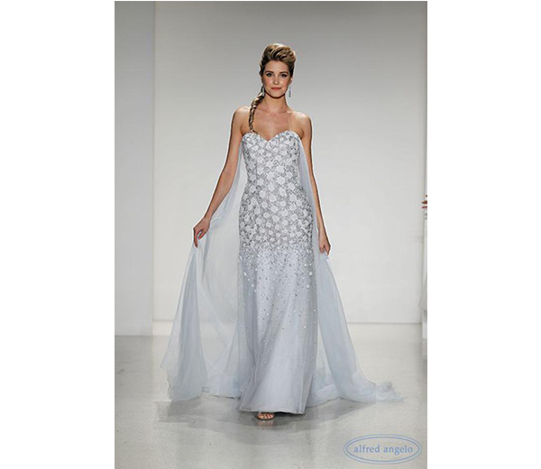 En octobre dernier, lors de la Bridal Fashion Week de New-York ...