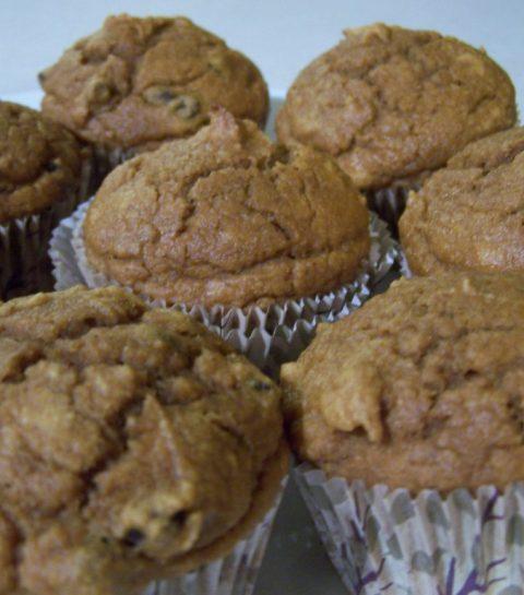 Muffin au potiron
