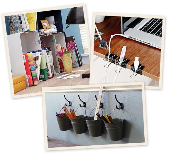 5 diy pour organiser votre bureau page 4 sur 5. Black Bedroom Furniture Sets. Home Design Ideas